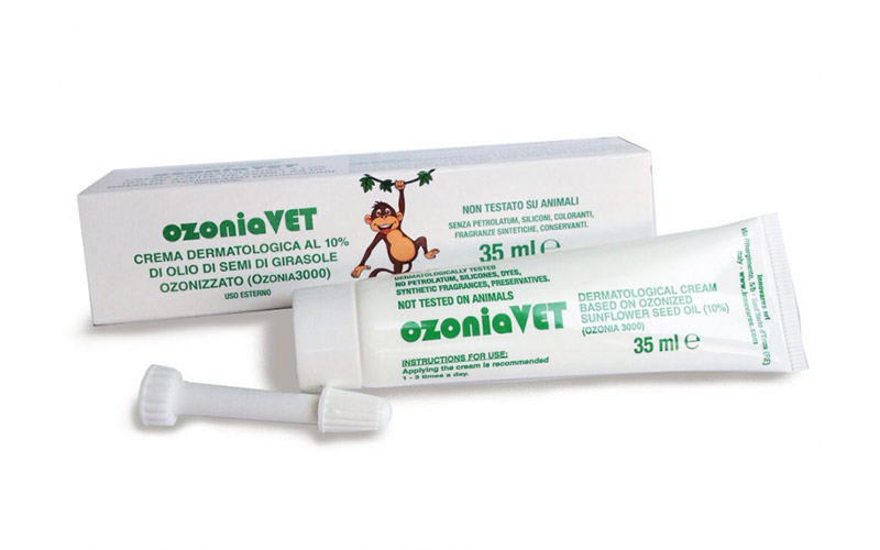 OzoniaVET ® crema veterinaria all'Ozono PER L'ANIMALE